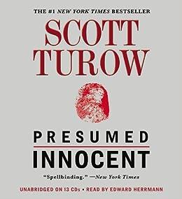 presumed innocent scott turow edward herrmann 9781607883760 amazoncom books - Presumed Innocent Book