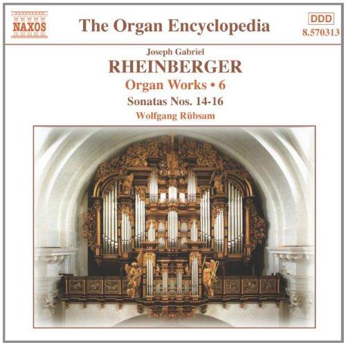 Organ Sonatas (Organ Works 6 / Sonatas 14-16)