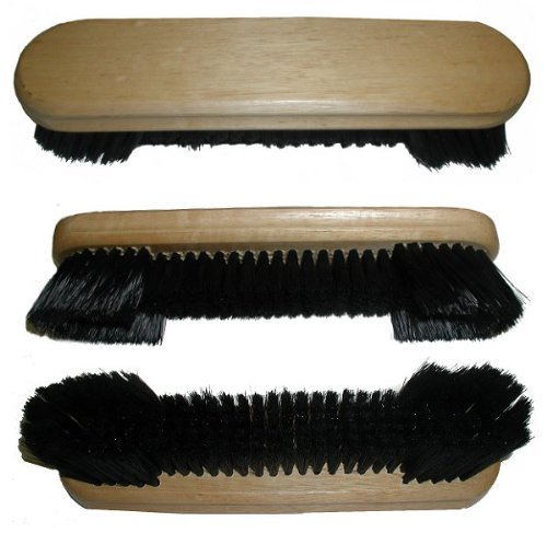 Trademark Billiard Table Brush with Oak Finish