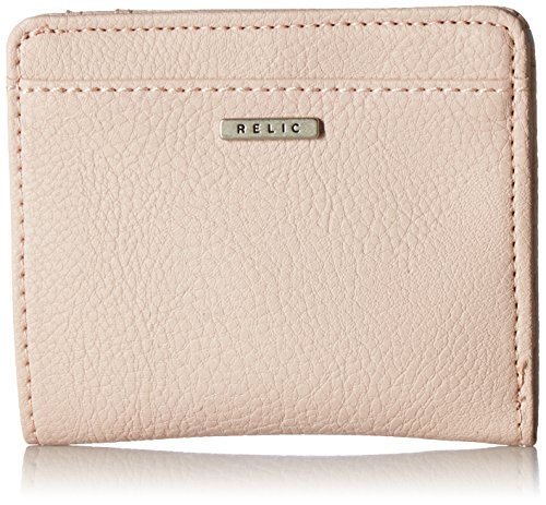 Relic by Fossil RFID Solid Bi-Fold Wallet, Blush (For Fossil Wallets Women Bifold)