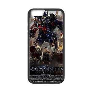 Transformers oscuro de la luna 9 iPhone 6 Plus 5.5 pulgadas Caso de la cubierta del teléfono celular Negro Funda EVAXLKNBC08327