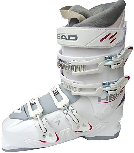 Head Damen Skischuhe FX7, White/Lilac, 605401-26.5