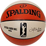 Spalding Women's WNBA Official Game Basketball Size 6 - Lisa Borders sign