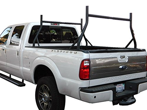 9sparts® Universal Adjustable Pair Heavy Duty Truck Ladder Rack Contractor Lamber Cargo Bed Rack