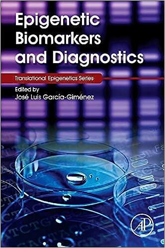 Epigenetic Biomarkers And Diagnostics por José Luis García-giménez epub