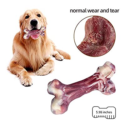 EETOYS-Dog-Chew-Toys-for-Aggressive-Chewers-Lifetime-Replacement-Guarantee-Nearly-Indestructible-Tough-Durable-Dog-Toy-Non-Toxic-Nylon-Dog-Bone-Toy-Reduces-Boredom
