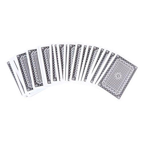 Baosity 54枚/デッキ PVC 防水 ポーカーカード ボードゲーム エンターテイメント おもちゃ