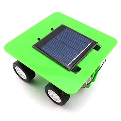 Amazon Gbell Mini Solar Powered Toy DIY Car KitKids