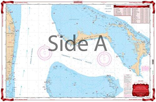 Waterproof Charts 38 North Bahama
