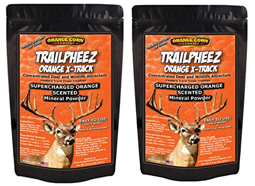New Orange Corn Company / TRAILPHEEZ Orange Flavored X-Track / Concentrated Deer and Wildlife Attrac...