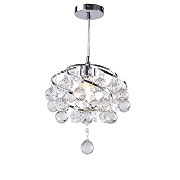 Kristall Deckenleuchten Essen Lampe, AOKARLIA Kreativ Hängendes Licht Zum  Wohnzimmer / Schlafzimmer / Gang