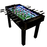 Bilhares Castro Portuguese Professional Wood Foosball Soccer Table Matraquilhos With LED Light