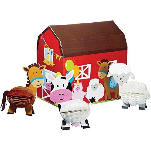 Farmhouse 3D Centerpiece Kit (Each) - Party Supplies -