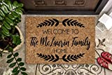 Personalized Doormat | Custom Doormat | Wedding Gift | Housewarming Gift | Closing Gift | Welcome Doormat | Front Door Mat | Farmhouse Decor