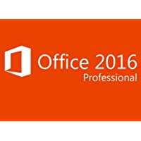 MICROSOFT OFFICE 2016 PROFESSIONAL PLUS FOR WINDOWS PC [Windows 7 or above version]