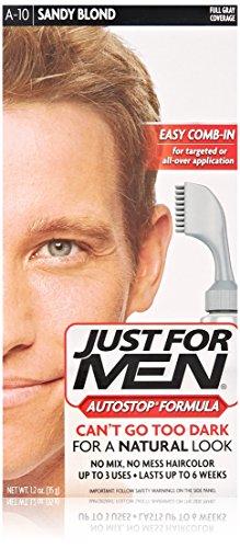just for men autostop mens hair color sandy blond just