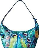 Anuschka Handbags Women's 510 East West Medium Hobo Jewelled Plume Handbag