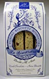 La Biscotteria anise biscotti are hand-dipped in a blend of sweet and semi-sweet high cocoa content European dark chocolate made by Schokinag fine chocolatiers. The velvety texture and rich flavor of dark chocolate complements the spicy aroma...