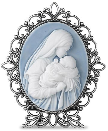 1pc Mother's Kiss Cameo Desk Stand