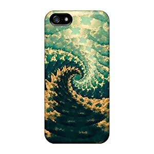 Protection Case For Iphone 5/5s / Case Cover For Iphone(fibonacci Vortex By Leif Podhajsky) by icecream design
