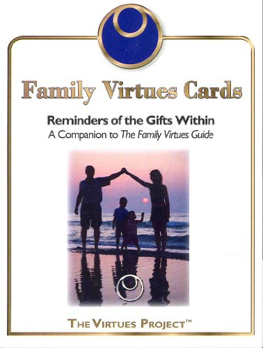 Family Virtues Cards  Virtues Project