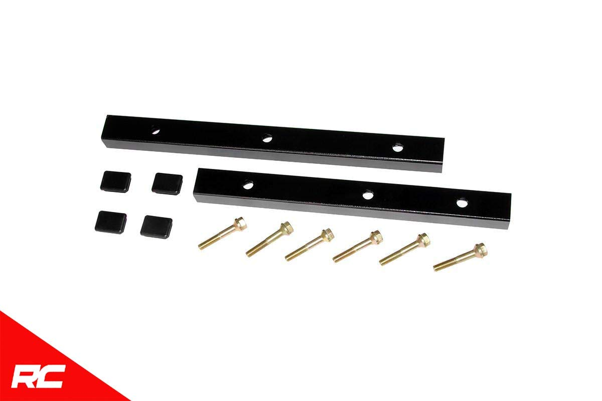 Rough Country Transfer Case Drop Kit Compatible w/ 1997-2002 Jeep Wrangler TJ Reducing Steering Vibration 1668TC