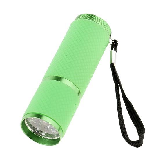 SunniMix Mini Luz UV Secador de Esmalte de Gel de Uñas - 9 LEDs ...
