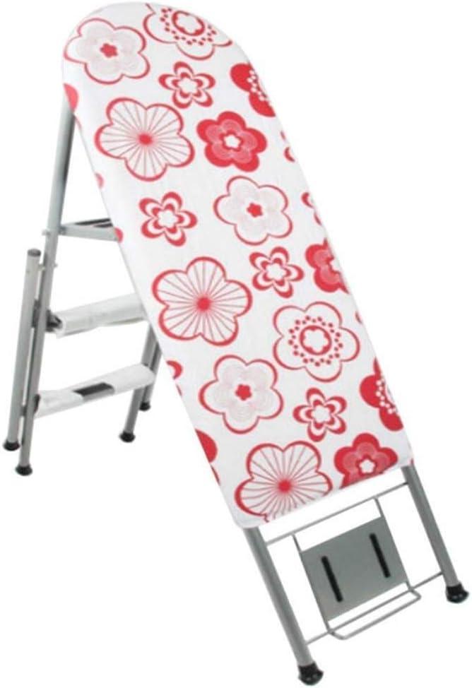 AJZXHE Tabla de Planchar Tabla de Planchar, Tabla de Planchar Plegable de la Escalera del Estante Que Plancha del hogar Tabla de Planchar Plegable (Color : C): Amazon.es: Hogar