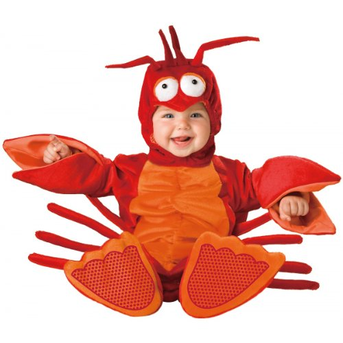 [Lil Lobster Costume - Infant Large] (Lobster Claw Costume Pattern)