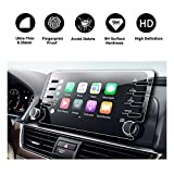 #4: 2018 Honda Accord Sport EX EX-L Touring EX-L Navi Navigation Screen Protector,HD Clear TEMPERED GLASS Screen Scratch-Resistant Ultra HD Extreme Clarity (2018 8In Clear)