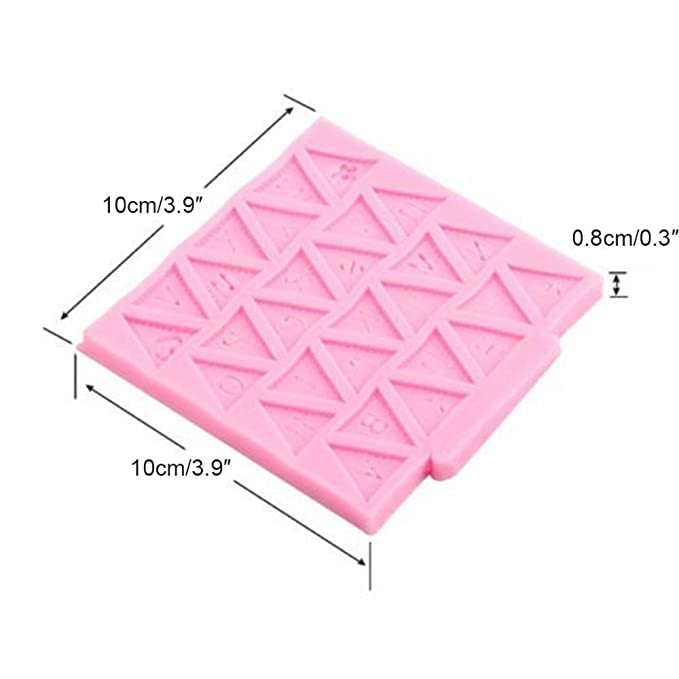BABY SHOWER BUNTING FLAGS Party 3D Silicone Mould Fondant Cake Decorate Topper: Amazon.es: Hogar