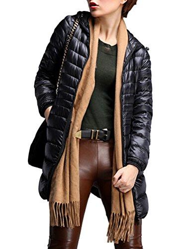Parka Fit Brinny Rembourrage Arm Veste Mince Couleur Manteau Hoodies 7 Blouson Super avec Slim Pouch Long pqw8CqYx