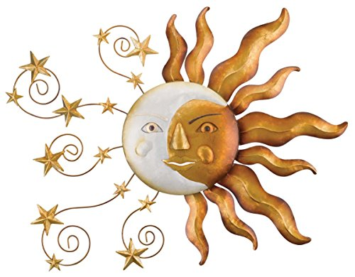 Regal Art &Gift Celestial Sun Wall Decor