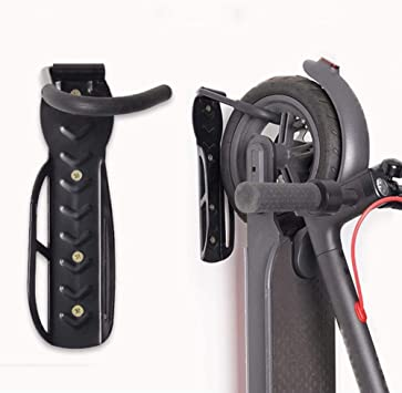 Linghuang Soporte de pared para bicicleta para Xiaomi M365 / M365 Pro/Ninebot ES1 ES2 Accesorio para Scooter Eléctrico Max Carga 30 kg