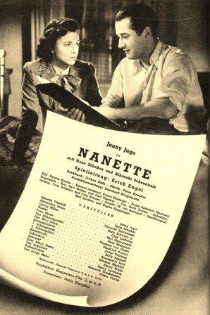 Nanette - Jenny yugo, Hans Söhnker ... - unidades{30}/ años ...