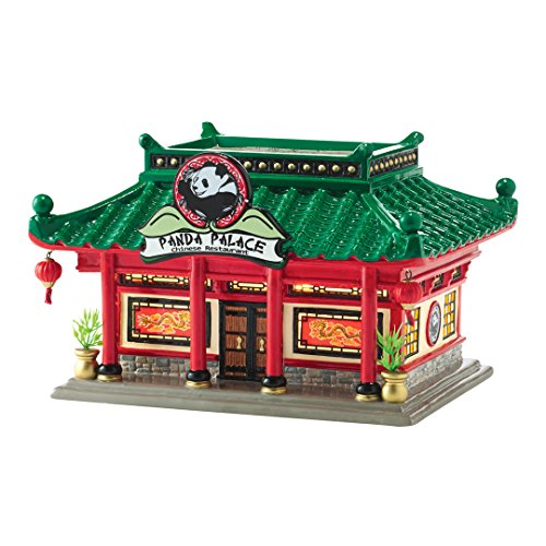 Department 56 Snwvl Panda Palace Lit_house