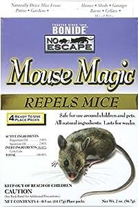 Bonide 865 4 Count Mouse Repellent, 2-Ounce
