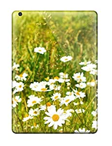 For Ipad Air Premium Tpu Case Cover Daisy Summer Field Daisies Yellow Grass Titlesearch For Srchttpwallpaperstocknetuploadskeywordjs Wal Nature Flower Protective Case
