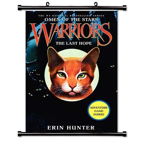 Warriors Erin Hunter Book Review: Warriors: The Last Hope (Erin Hunter) Fabric Wall Scroll