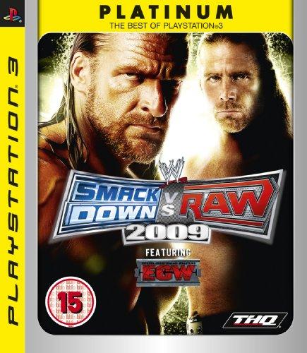 WWE Smackdown vs Raw 2009 - Platinum (PS3) [UK - 2009 Game Wwe