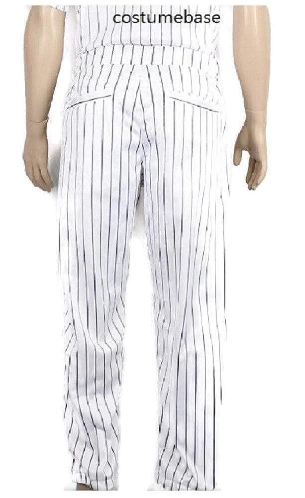 Amazon.com  costumebase Furies Style Baseball Pinstripe Pants Only Bottoms   Clothing ab3bc39ebf8c