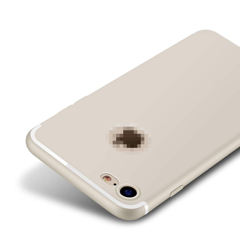 Amazon.com: Slim Silicone Case for iPhone 8 X 7 6 6s Plus 5 ...