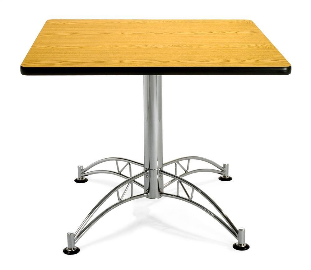 Cherry OFM KMT36SQ-CHY Square Multi-Purpose Table Metal Mesh Base 36