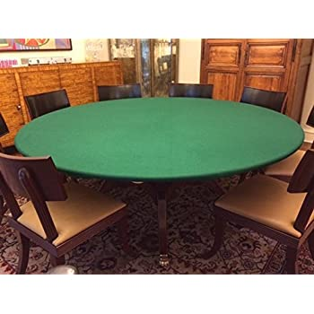 Amazoncom green Felt Poker Table Cover Green fitted Tablecloth
