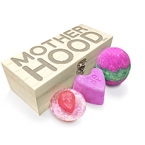 Twisted Envy Motherhood Luxury Wooden Spa Kit Box Collection 1 (Motherhood Kit)
