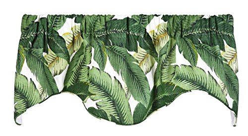 Decorative Things Window Treatments Valence Curtains Kitchen Window Valences or Living Room Tommy Bahama Fabric
