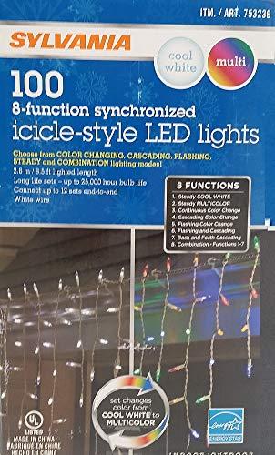 Sylvania Led Icicle Christmas Lights