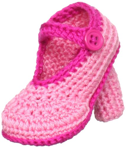 31f2db12ea80 Amazon.com  Jefferies Socks Baby-Girls Newborn High Heel Bootie ...