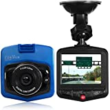Pettstore 2.4 LCD HD 1080P Car DVR, 140 Degree Wide Angle Dashboard Camera Recorder with 32GB Card, G-Sensor Night Vision, Parking Monitor, Motion detection, Loop Recording(Blue)