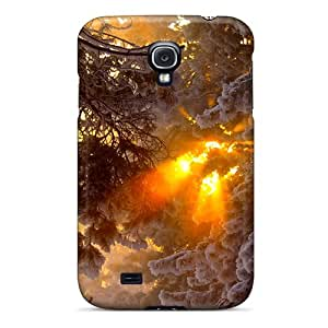 Faddish Phone Winter Rays Case For Galaxy S4 / Perfect Case Cover